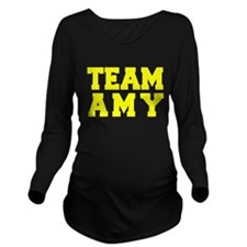 TEAM AMY Long Sleeve Maternity T-Shirt