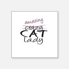 Crazy Cat Lady Sticker