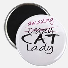 Crazy Cat Lady Magnets