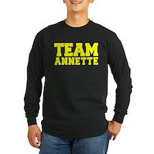 TEAM ANNETTE Long Sleeve T-Shirt