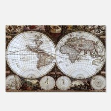 Ancient World Map Postcards (Package of 8)
