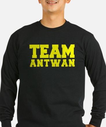 TEAM ANTWAN Long Sleeve T-Shirt