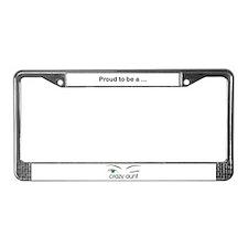 Crazy Aunt  License Plate Frame