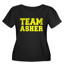 TEAM ASHER Plus Size T-Shirt
