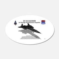 SR-71A Blackbird reflection Wall Decal
