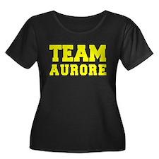TEAM AURORE Plus Size T-Shirt
