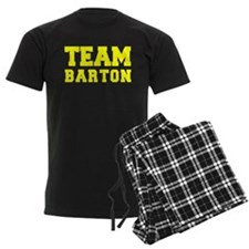 TEAM BARTON Pajamas