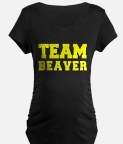 TEAM BEAVER Maternity T-Shirt
