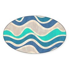 Waves Pattern Decal