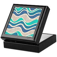 Waves Pattern Keepsake Box