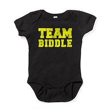 TEAM BIDDLE Baby Bodysuit