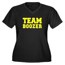 TEAM BOOZER Plus Size T-Shirt