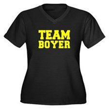 TEAM BOYER Plus Size T-Shirt