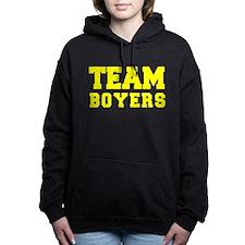 TEAM BOYERS Women's Hooded Sweatshirt
