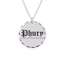 Phury Necklace Circle Charm