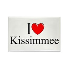 """I Love Kissimmee"" Rectangle Magnet"