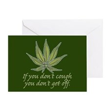 Getting High Greeting Card