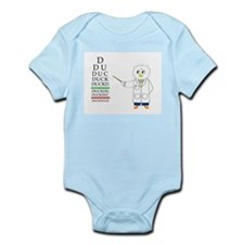 Eye Exam Infant Bodysuit