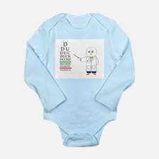 Eye Exam Long Sleeve Infant Bodysuit