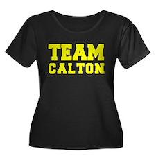 TEAM CALTON Plus Size T-Shirt