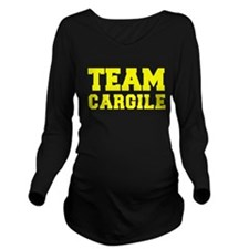 TEAM CARGILE Long Sleeve Maternity T-Shirt