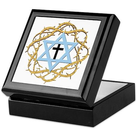 Thorns Star Cross Keepsake Box