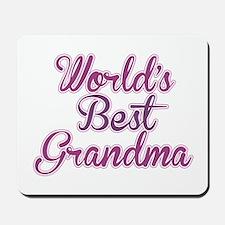 Worlds Best Grandma Design Mousepad