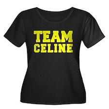 TEAM CELINE Plus Size T-Shirt