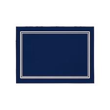 Navy Blue 5'x7'area Rug