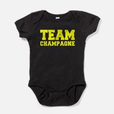 TEAM CHAMPAGNE Baby Bodysuit
