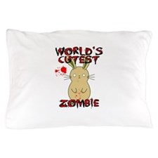 Worlds Cutest Zombie Pillow Case