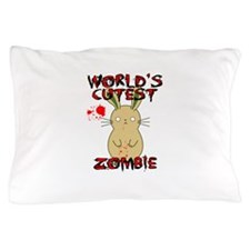 Worlds Cutest Zombie Pillow Case
