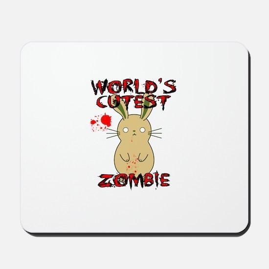 Worlds Cutest Zombie Mousepad