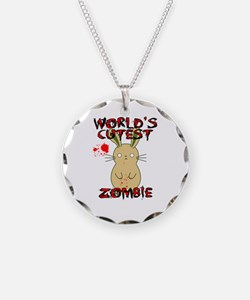 Worlds Cutest Zombie Necklace