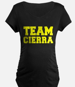 TEAM CIERRA Maternity T-Shirt
