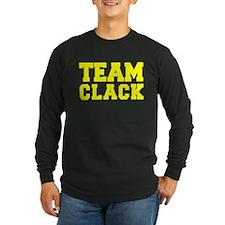 TEAM CLACK Long Sleeve T-Shirt