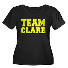 TEAM CLARE Plus Size T-Shirt