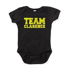 TEAM CLARENCE Baby Bodysuit
