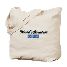 World's Greatest Opa (1) Tote Bag