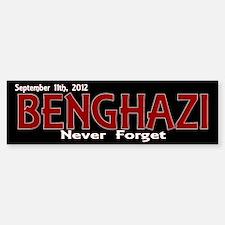 Benghazi Bumper Bumper Sticker