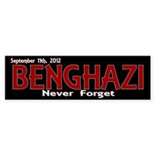 Benghazi Bumper Sticker