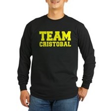 TEAM CRISTOBAL Long Sleeve T-Shirt