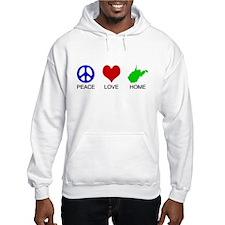 Peace Love Home Hoodie
