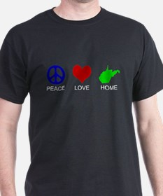 Peace Love Home T-Shirt