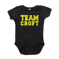 TEAM CROFT Baby Bodysuit