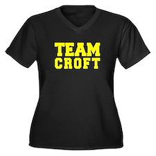 TEAM CROFT Plus Size T-Shirt
