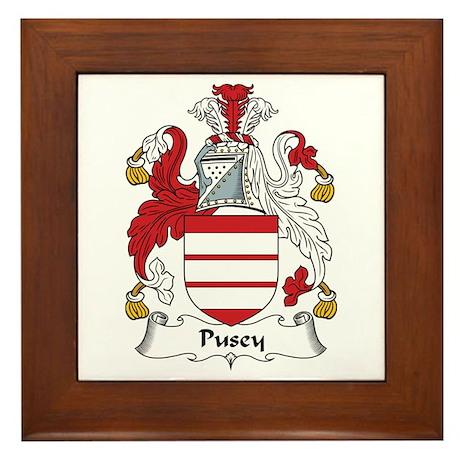 Pusey Framed Tile