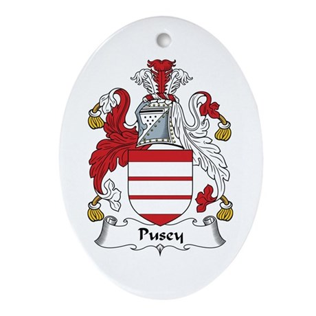 Pusey Oval Ornament