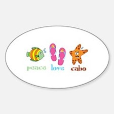 peace love cabo Decal