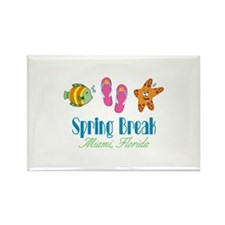 Spring Break Miami Florida Magnets
